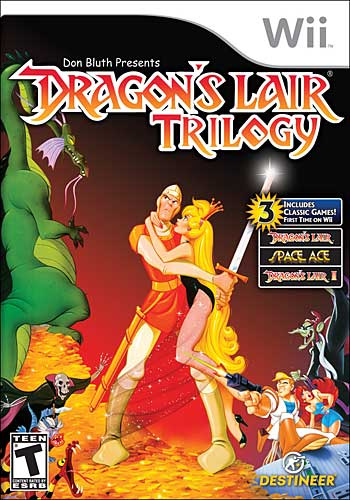 Dragon's Lair Trilogy Cover Artwork