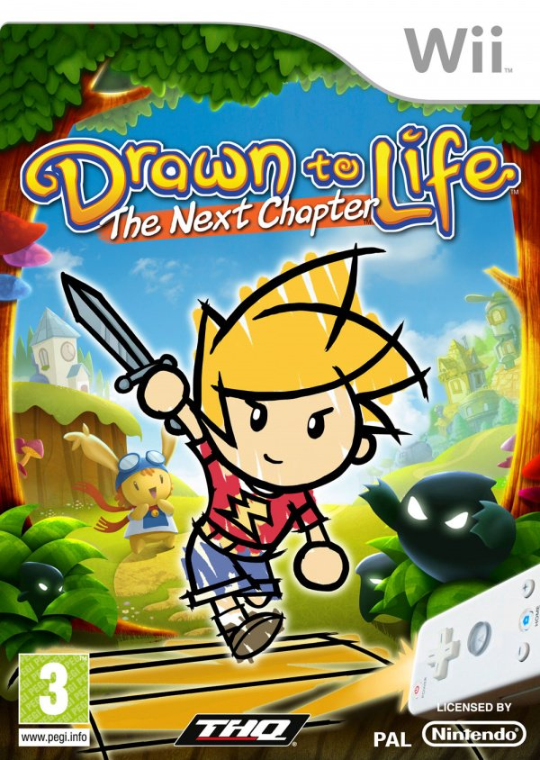 Drawn to Life: The Next Chapter Cover Artwork