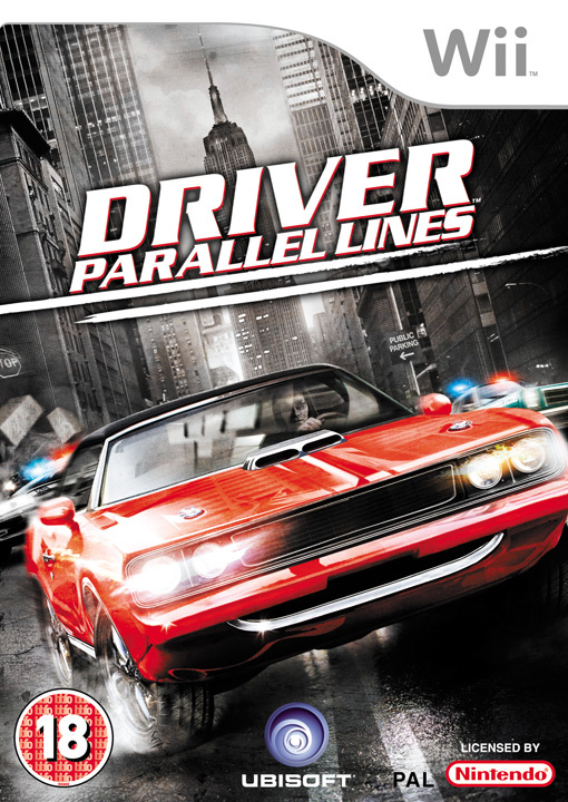 Driver: Parallel Lines Cover Artwork