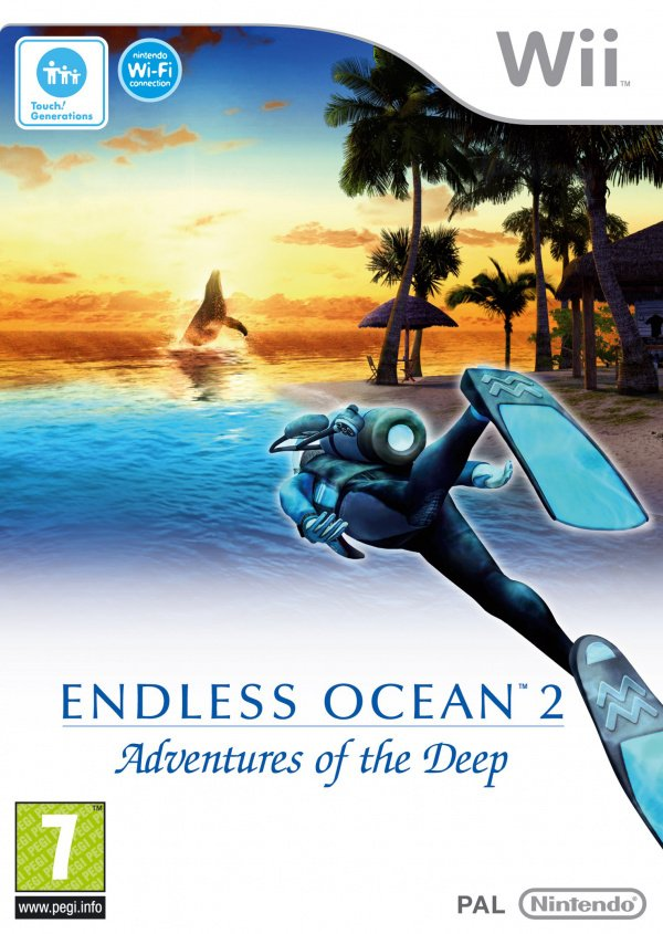Endless Ocean 2: Adventures of the Deep Cover Artwork