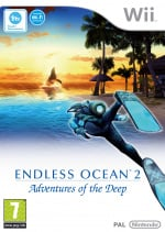 Endless Ocean 2: Adventures of the Deep Cover (Click to enlarge)