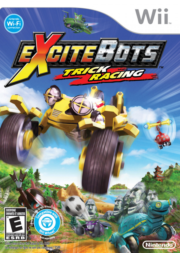 Excitebots: Trick Racing Cover Artwork