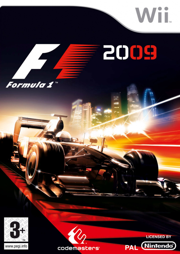 F1 2009 Cover Artwork