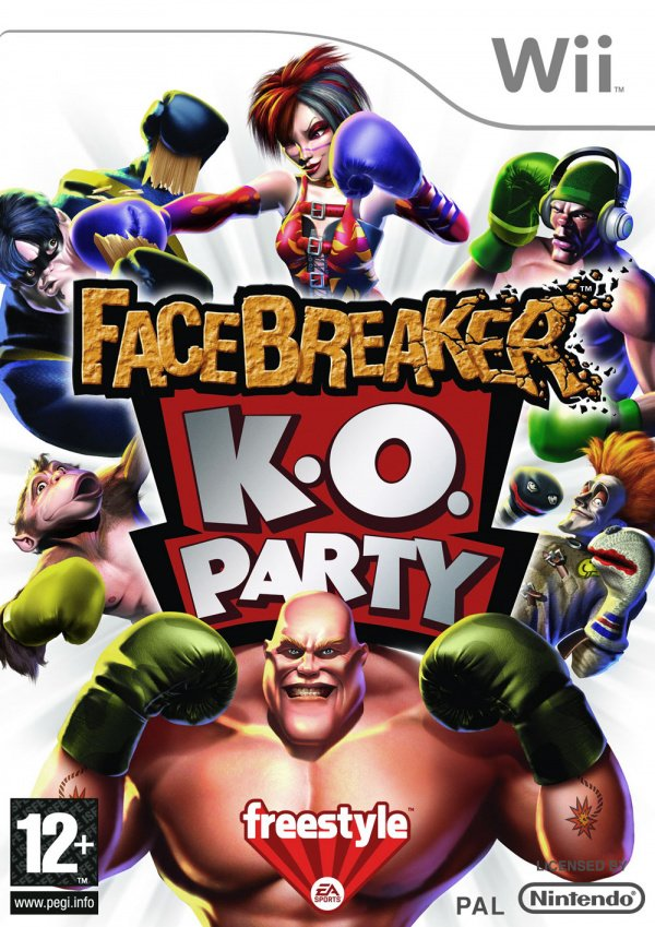 FaceBreaker K.O. Party Cover Artwork