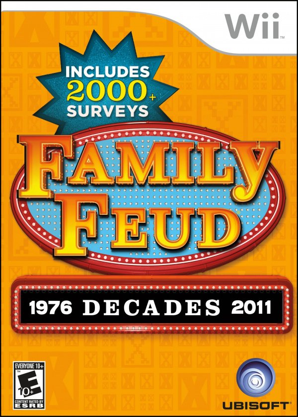 Family Feud Decades Cover Artwork