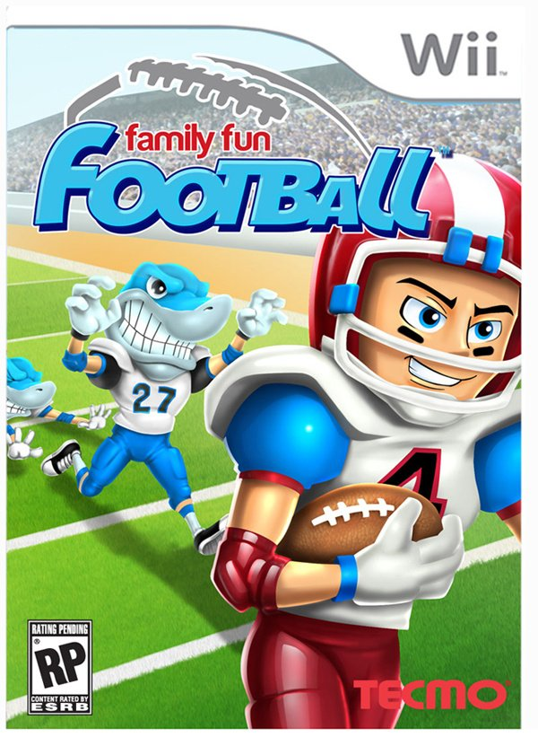 Family Fun Football Cover Artwork