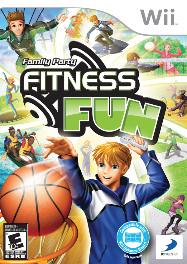 Family Party: Fitness Fun Cover Artwork