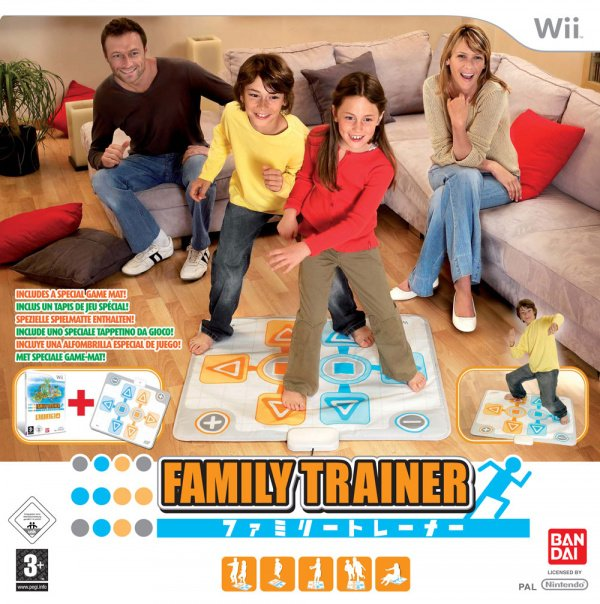 Family Trainer Cover Artwork