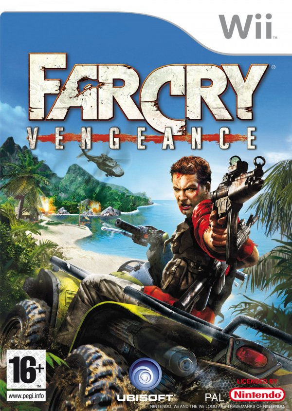 Far Cry: Vengeance Cover Artwork