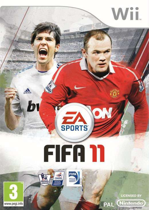 FIFA 11 Cover Artwork