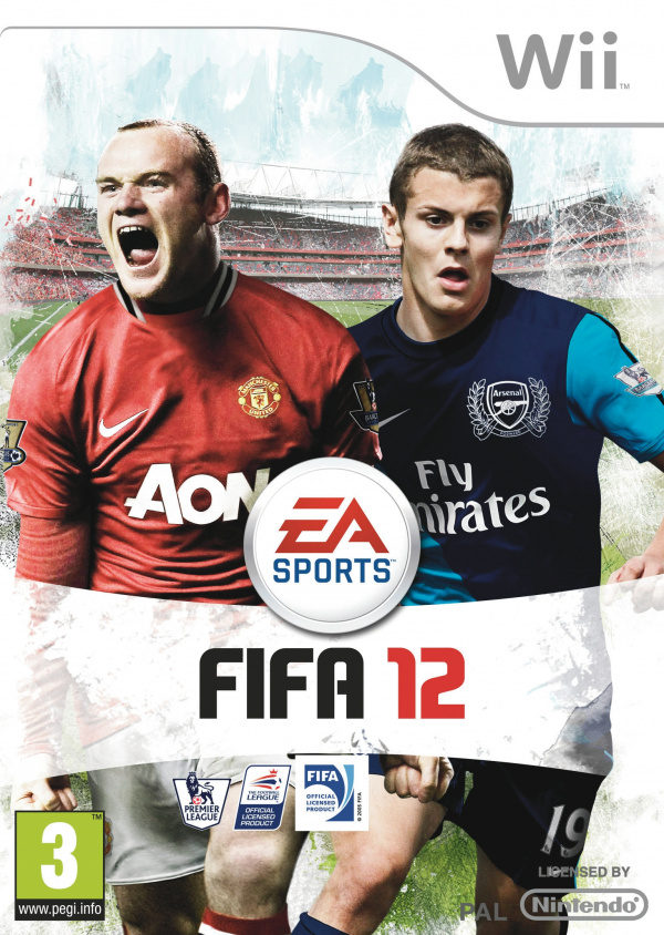FIFA 12 Cover Artwork