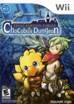 Final Fantasy Fables: Chocobo's Dungeon Cover (Click to enlarge)