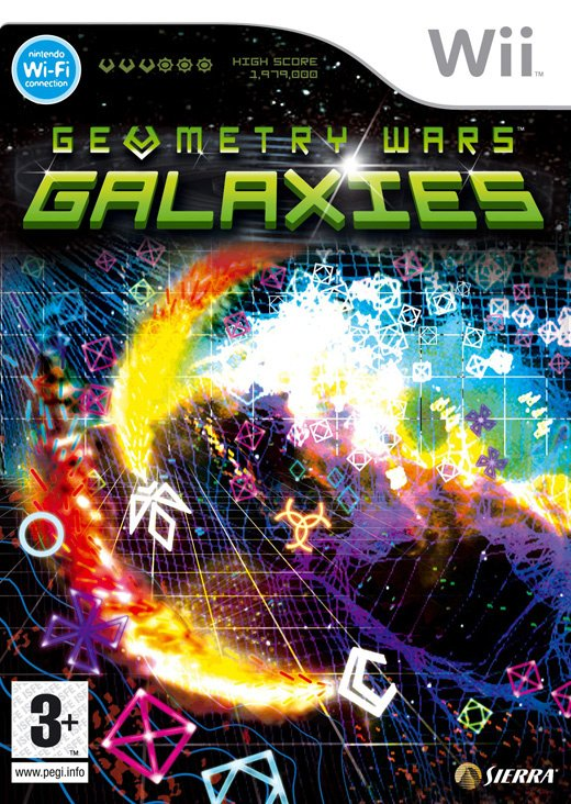 Geometry Wars Galaxies Cover Artwork