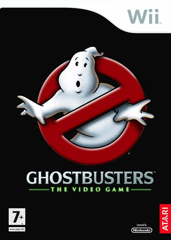 Ghostbusters: The Video Game Cover Artwork
