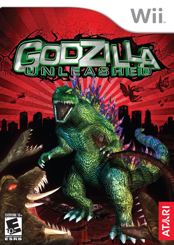 Godzilla Unleashed Cover Artwork
