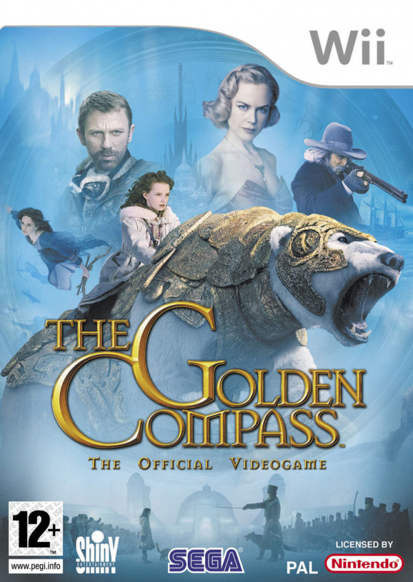 The Golden Compass Cover Artwork
