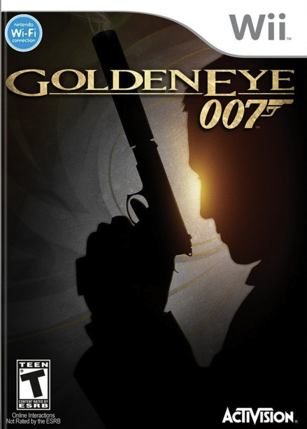 GoldenEye 007 Cover Artwork