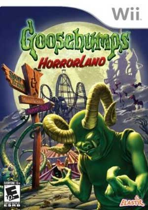 Goosebumps HorrorLand Cover Artwork