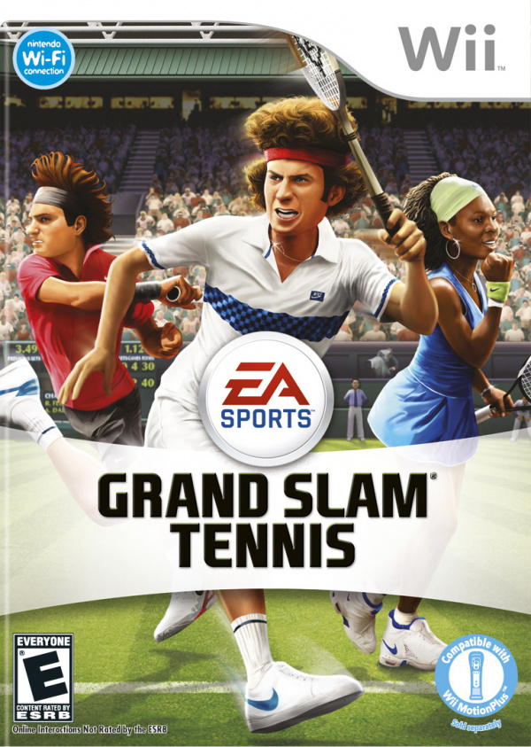 Grand Slam Tennis Cover Artwork