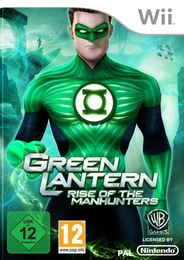Green Lantern: Rise of the Manhunters Cover Artwork