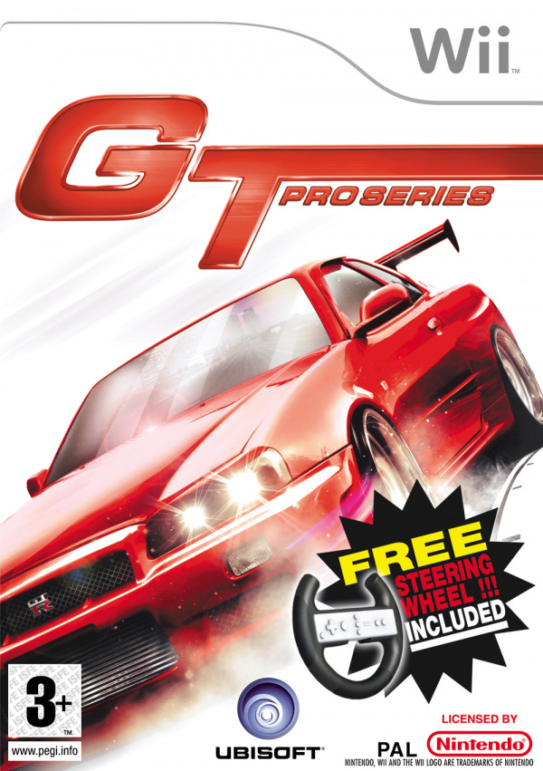 GT Pro Series Cover Artwork