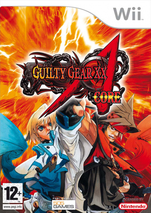 Guilty Gear XX Accent Core Cover Artwork