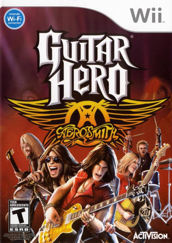 Guitar Hero: Aerosmith Cover Artwork