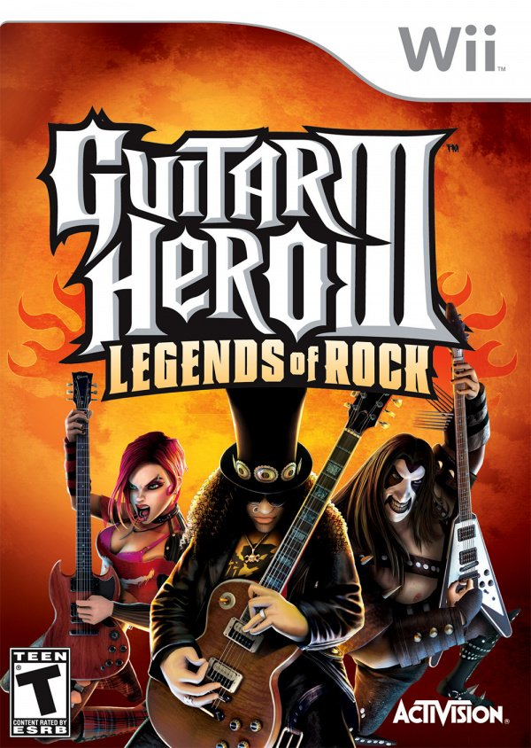 Guitar Hero III: Legends of Rock Cover Artwork