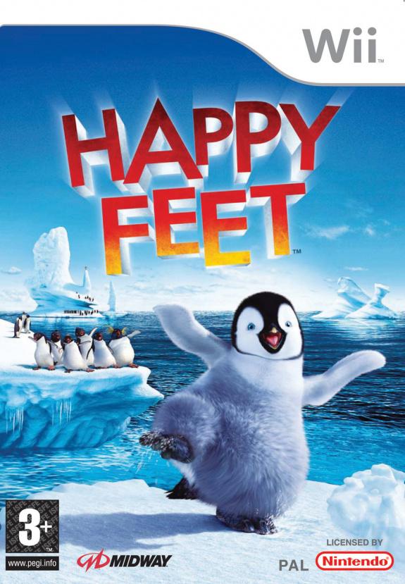 Happy Feet Cover Artwork