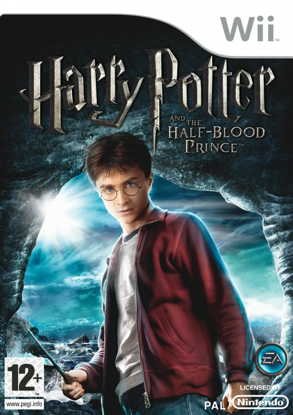 Harry Potter and the Half-Blood Prince Cover Artwork