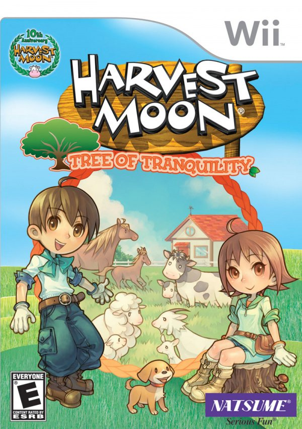 Harvest Moon: Tree of Tranquility Cover Artwork