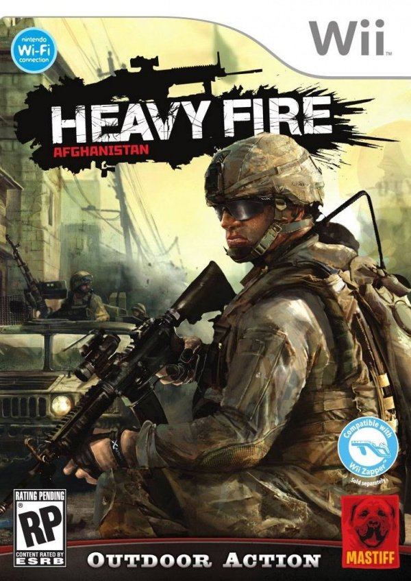 Heavy Fire: Afghanistan Cover Artwork