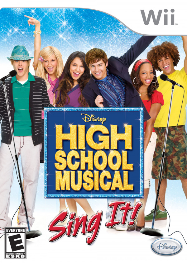 High School Musical: Sing It! Cover Artwork