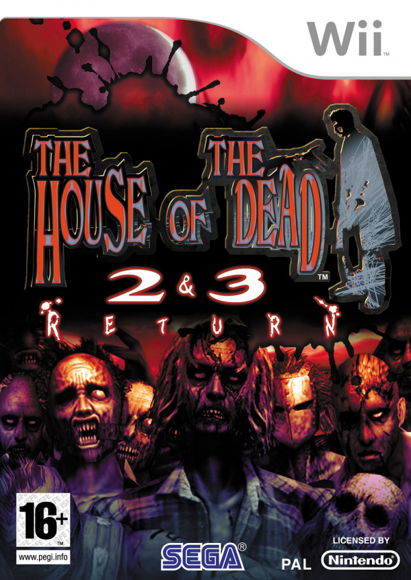 The House of the Dead 2&3 Return Cover Artwork