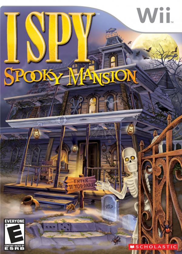 I SPY Spooky Mansion Cover Artwork