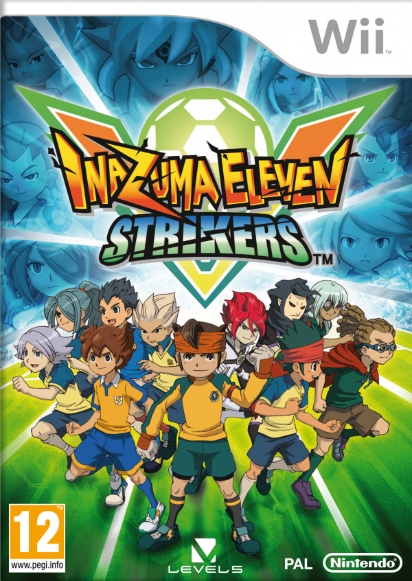 Inazuma Eleven Strikers Cover Artwork