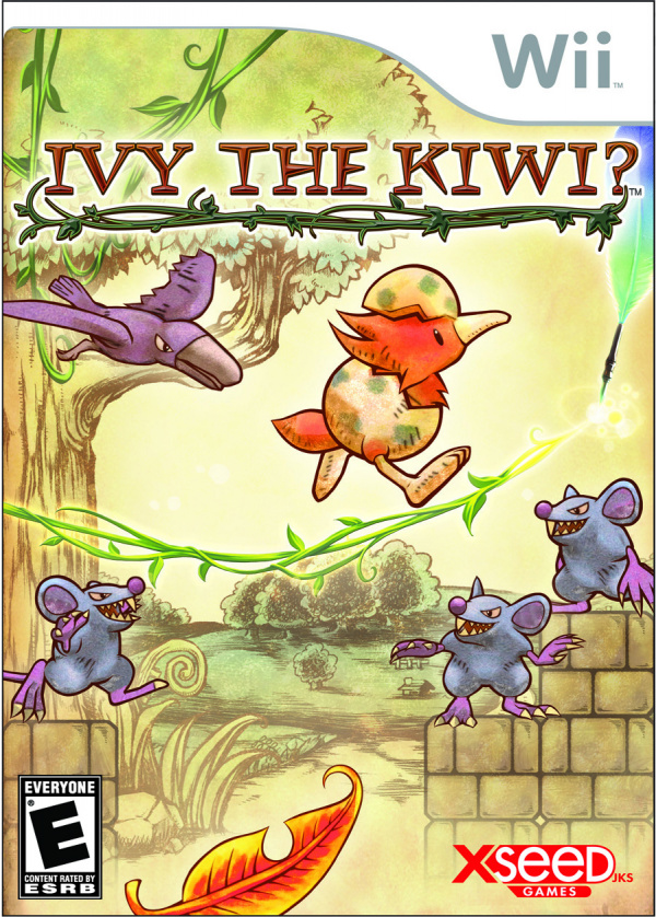 Ivy the Kiwi? Cover Artwork