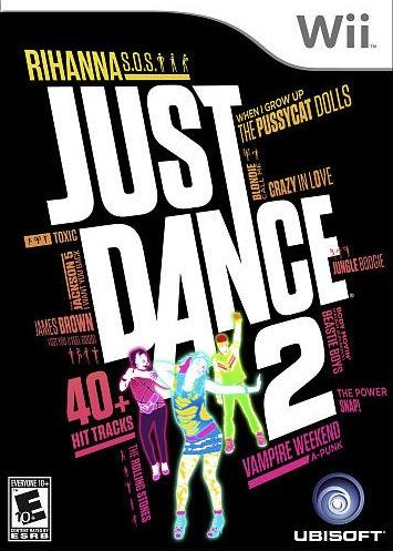Just Dance 2 Cover Artwork