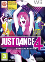 Just Dance 4 Cover (Click to enlarge)