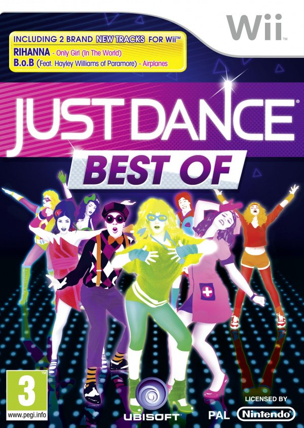 Just Dance: Best Of Cover Artwork