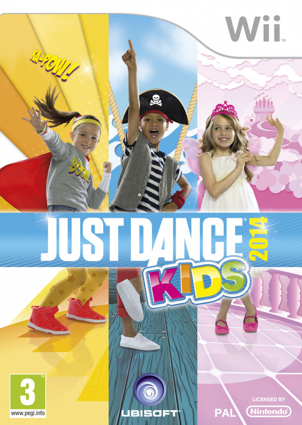 Just Dance Kids 2014 Cover Artwork