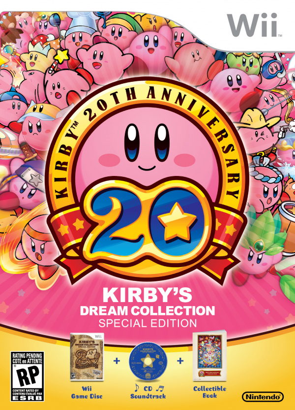 Kirby's Dream Collection: Special Edition Cover Artwork