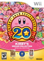 Kirby's Dream Collection: Special Edition Cover (Click to enlarge)