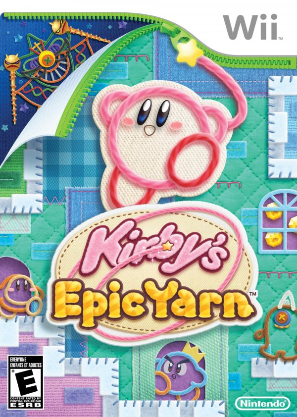 Kirby's Epic Yarn Cover Artwork