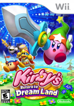 Kirby's Return to Dream Land Cover (Click to enlarge)