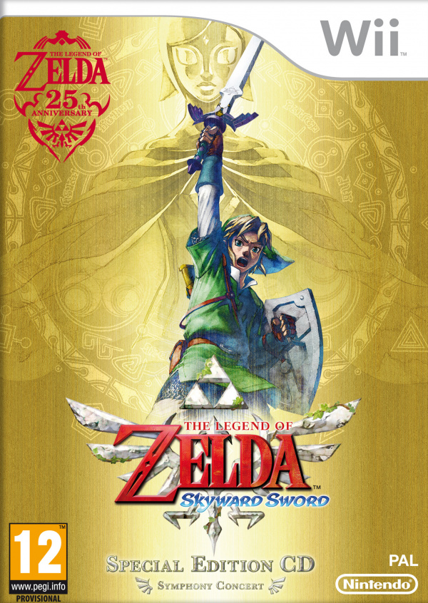 The Legend of Zelda: Skyward Sword Cover Artwork