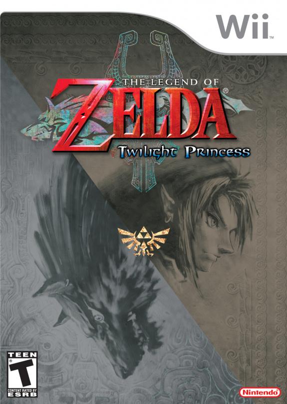 Legend Of Zelda Twilight Princess Cover Artwork