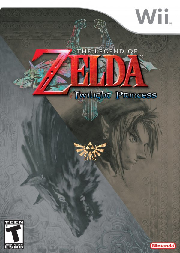 The Legend of Zelda: Twilight Princess Cover Artwork