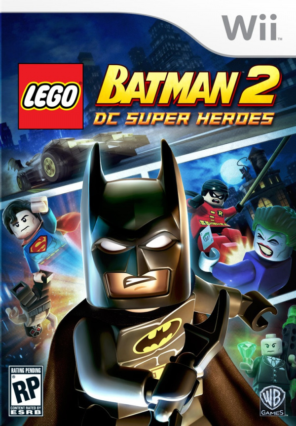 LEGO Batman 2: DC Super Heroes Cover Artwork