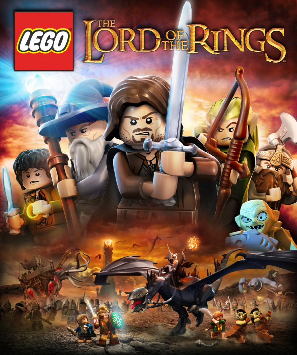 LEGO Lord of the Rings Cover Artwork